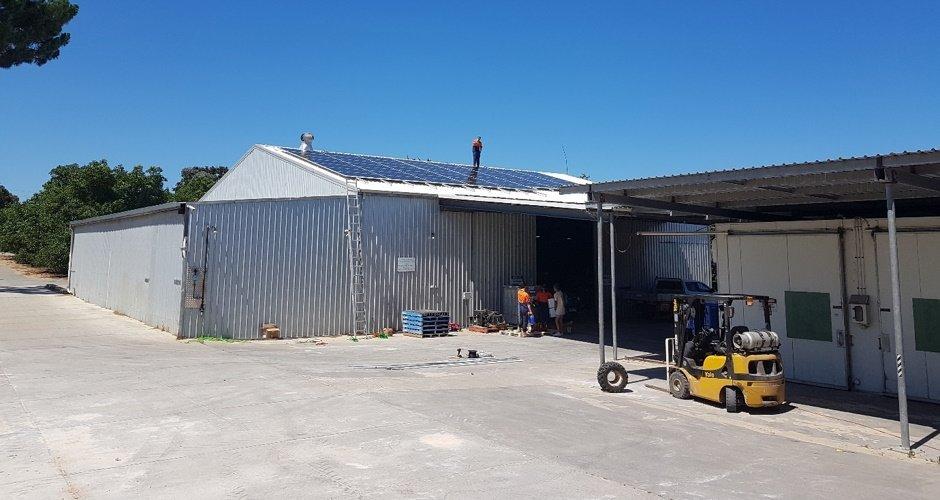 Solar (Renewable Energy) panels been installed