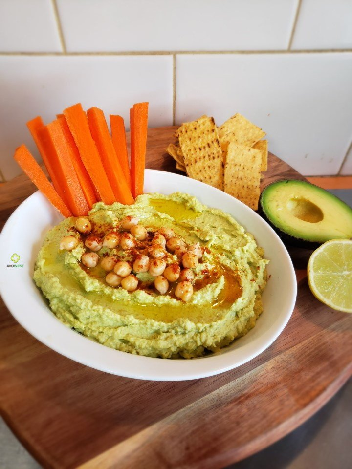 Advocado Hummus (NEW)