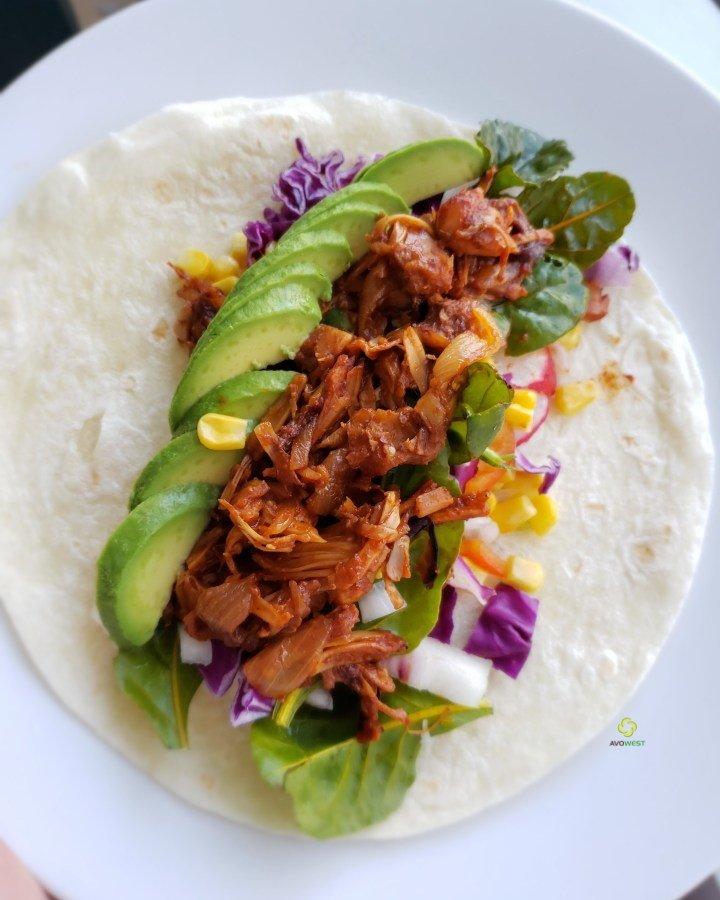 BBQ Pulled Jackfruit Tacos