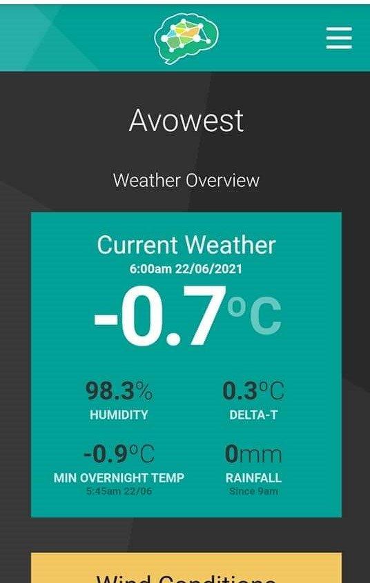 Cold -0.7c